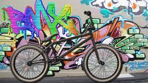 bmx and graffiti