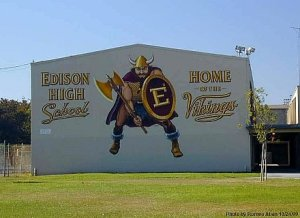 edison high school logo