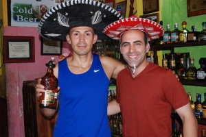 Mario's hat takes the cake, I mean, the tequila.