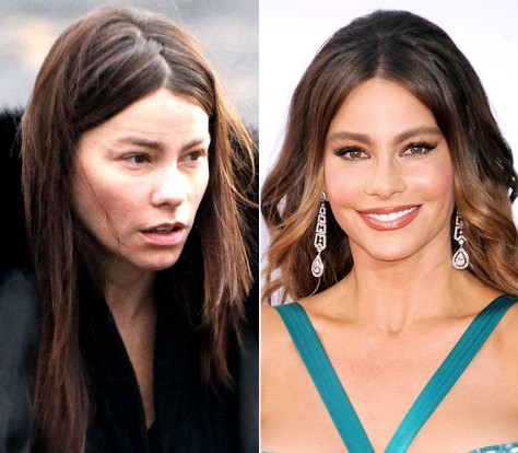 sofia vergara no make up