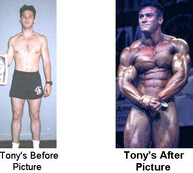 tony on roids