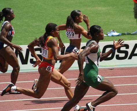 Female-sprinters