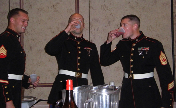 Can Enlisted People Drink Alcohol