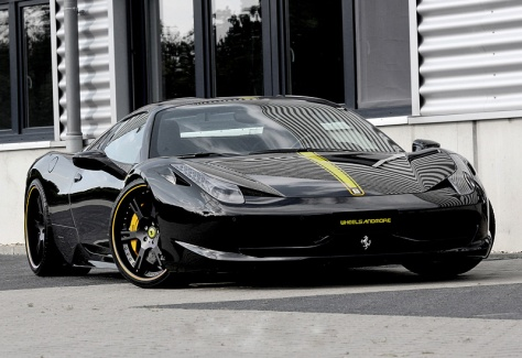 2013 Ferrari 458 Italia Wheelsandmore Black Stage II