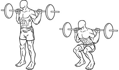 Image result for front squat images