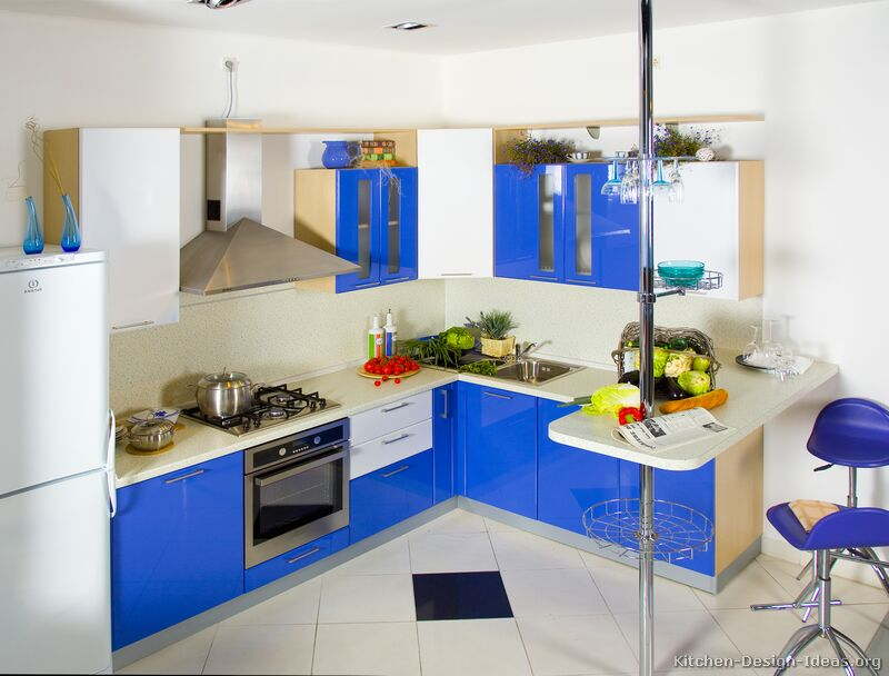 Two Tone Kitchen Cabinets Modern 2
